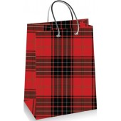 SHOPPER CARTA 18x23x8 TARTAN I-TOTAL