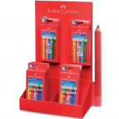 EXPO PASTELLI ACQUERELLABILI TRIANGOLARI COLOUR GRIP FABER-CASTELL