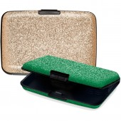 CUSTODIA SECUR CARD IN ALLUMINIO GLITTER NIJI