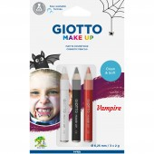 BLISTER 3 MATITE COSMETICHE GIOTTO MAKE UP VAMPIRE FILA