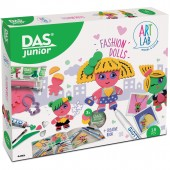 GIOCO CREATIVO DAS JUNIOR ART LAB FASHION DOLLS FILA