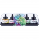 ACQUERELLO LIQUIDO ECOLINE SET 5 PRIMARI 30 ML. ROYAL TALENS