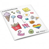 STICKERS BOOK BE-YOU 200 PEZZI